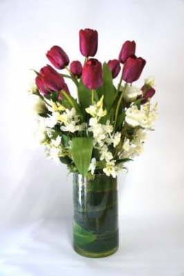 db_Flower_Illusions_plum_tulips__white_delphinium