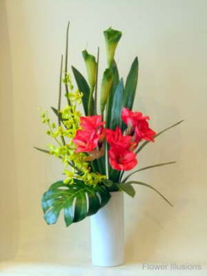 db_amaryllis__orchids_and_green_arum