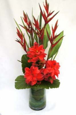 db_Flower_Illusions_red_ginger_and_red_heleconia