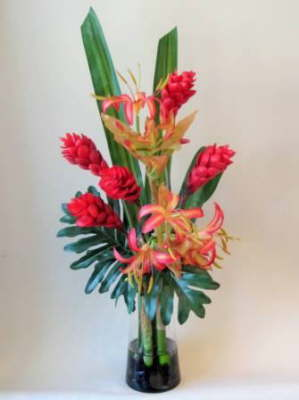 db_red_ginger_and_hoya_lillies